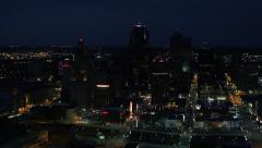 Kansas City Skyline Stock Footage