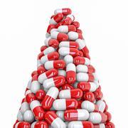 Pills peak - stock illustration