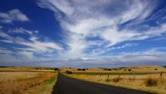 Road in Australia, UHDTV time-lapse Stock Footage