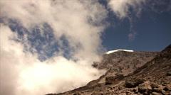 Timelapse Snows of Kilimanjaro #2 Stock Footage