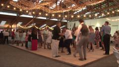 Wedding Reception Dance Floor Real Time Stock Footage