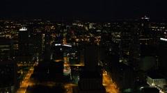 Kansas City Flythrough - stock footage