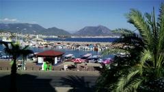 Stock Video Footage of Alanya Turkey Turkish Tourist Paradise 23
