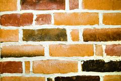 decorative brickwork - stock photo