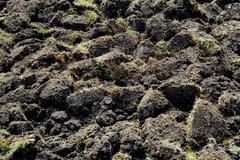 Plowed land. Kuvituskuvat