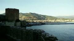 Stock Video Footage of Alanya Turkey Turkish Tourist Paradise 53