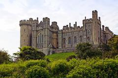 arundel castle, sussex - stock photo
