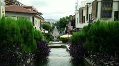 Stock Video Footage of Alanya Turkey Turkish Tourist Paradise 62 bazaar