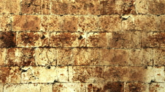 Stone Wall Texture Seamless Looping Animation Stock Footage