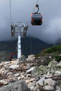 Cable car in the high tatras Kuvituskuvat