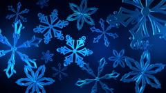Snowflakes Loop 29.97 Stock Footage