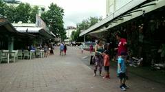 Stock Video Footage of Alanya Turkey Turkish Tourist Paradise 75 downtown bazaar