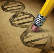 genetic engineering - stock illustration