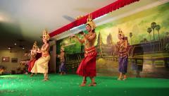 Cambodian Apsara dance, Siem Reap Stock Footage