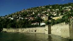 Stock Video Footage of Alanya Turkey Turkish Tourist Paradise 96