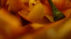 Making of Vegetation food Stock Footage
