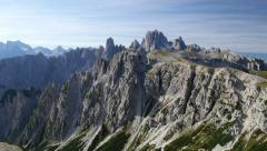 Pan dolomites alps 11496 Stock Footage