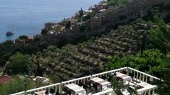 Stock Video Footage of Alanya Turkey Turkish Tourist Paradise 116