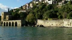 Stock Video Footage of Alanya Turkey Turkish Tourist Paradise 128