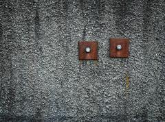 reinforced wall screws - stock photo