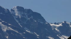 Switzerland berner Oberland. View from  Lauterbrunnen valley Stock Footage