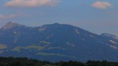Mountains near lake Lucerne, Switzerland Stock Footage