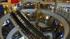 Bangkok terminal 21 timelapse Stock Footage