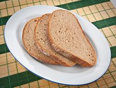 Stock Photo of brown bread.