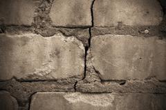 Grungy brickwork Stock Photos