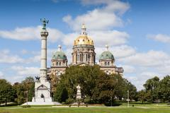 Stock Photo of Iowa State Capitol Building