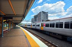 roma street railway station - stock photo