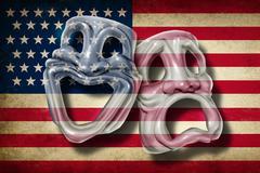 American theatre Piirros