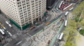 4K New York City Madison Square Traffic Timelapse 2a Footage