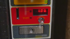Sold out vending machine Stock Footage