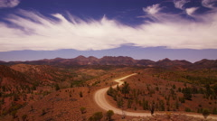 Flinders Ranges, Ultra HDTV time-lapse Stock Footage