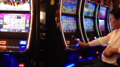 Macro slot machine Stock Footage