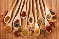 spices assortment - stock photo