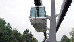 Modern transportation railway Stock Footage