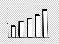 Bar Graph 03  hand drawn illustration whiteboard sketch - stock footage