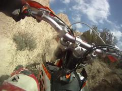 Dirtbike Hillclimb! GoPro Footage, EPIC! Stock Footage