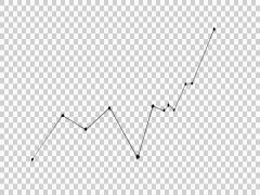 Line Graph 01 whiteboard animation sketch illustration hand drawn - stock footage