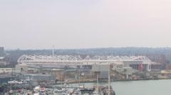 Southampton Skyline Stock Footage