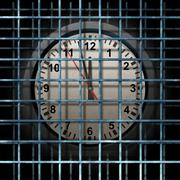 Stock Illustration of locked schedule