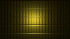 Gold floor (vertical movement) 25 fps animated background Stock Footage