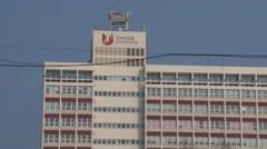Teeside University Building Stock Footage