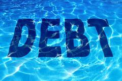 Drowning in debt Piirros