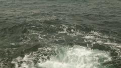 Waves On The Shore, Sea Waves, Storm - stock footage