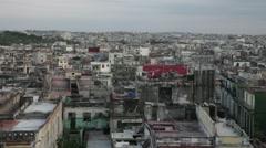 La Habana skyline Stock Footage