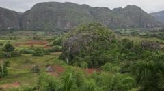 Viñales Landscape Stock Footage