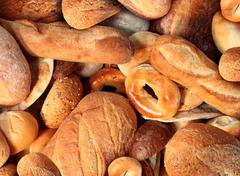 Stock Photo of bread background